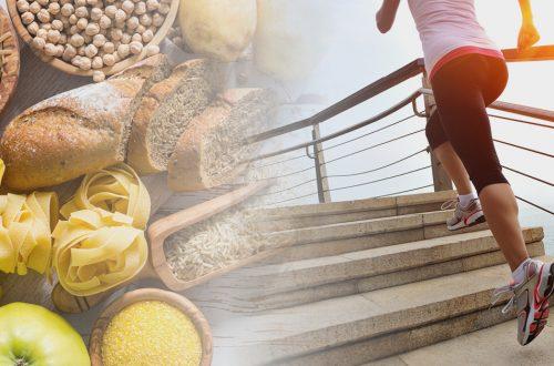 tipos de carbohidratos y el ejercicio